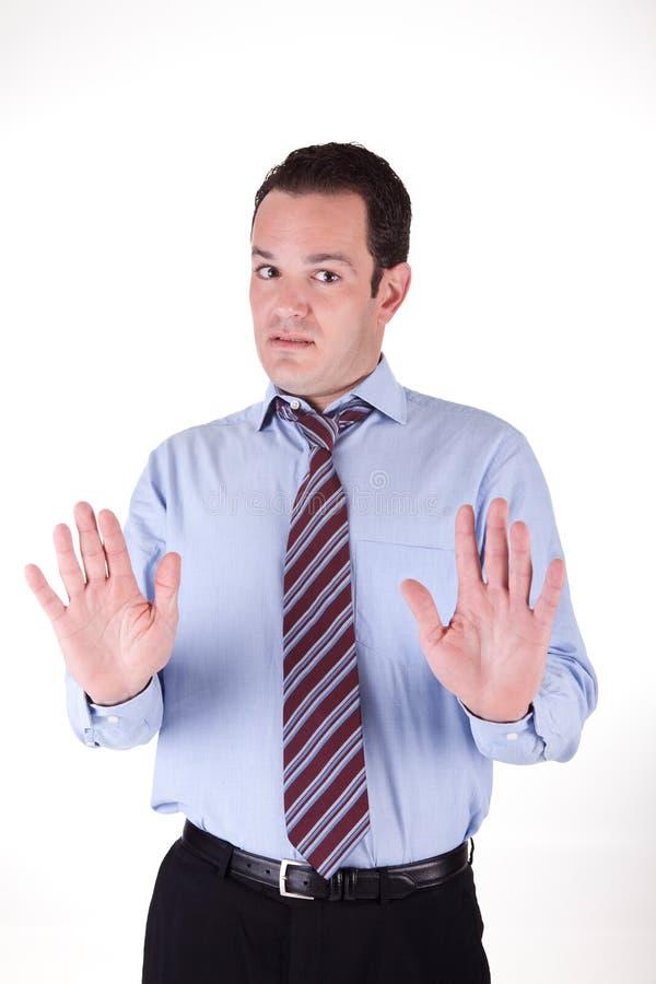 Homme d'affaires fâché images libres de droits