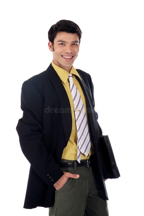 Homme d'affaires heureux asiatique photo libre de droits