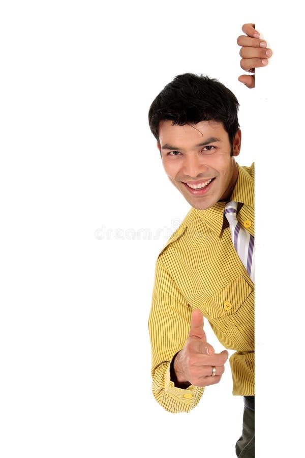 Homme d'affaires heureux asiatique photos stock