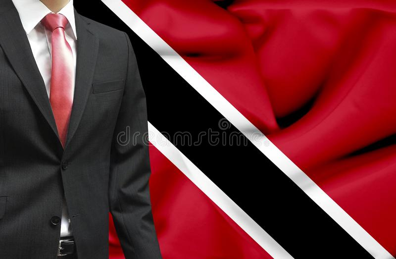 Homme d'affaires d'image conceptuelle du Trinidad-et-Tobago photos stock