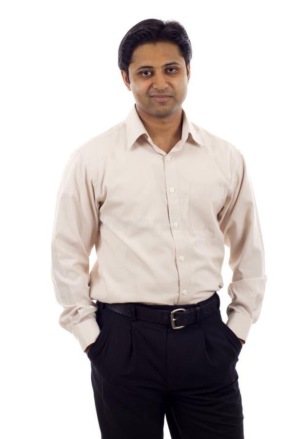 Homme d'affaires indien images stock