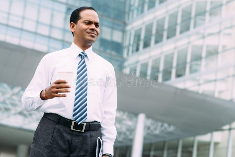 Homme d'affaires indien photographie stock