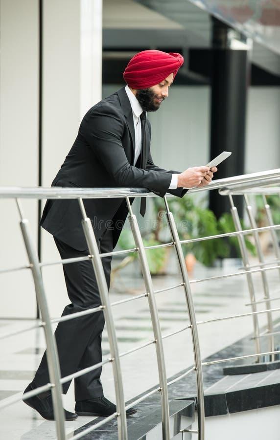 Homme d'affaires indien image libre de droits
