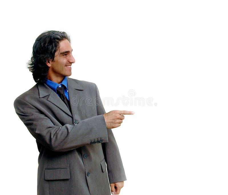 Homme d'affaires isolated-2 images libres de droits