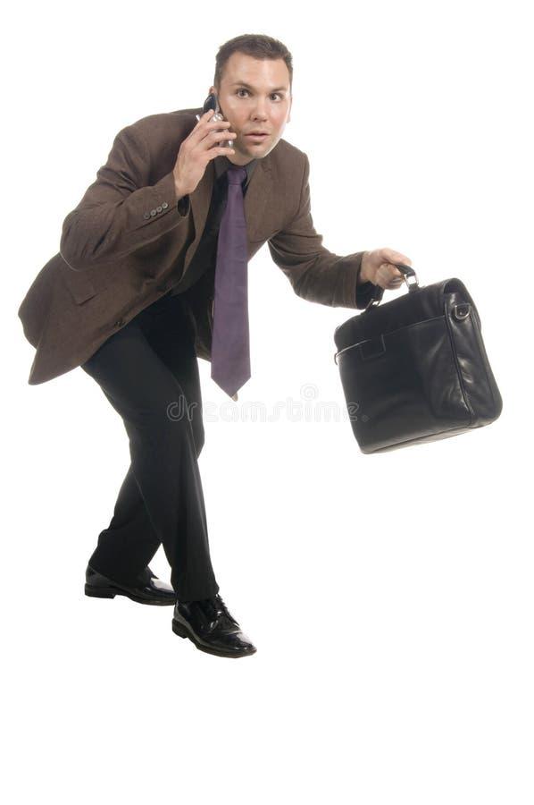 Homme d'affaires lisse images stock