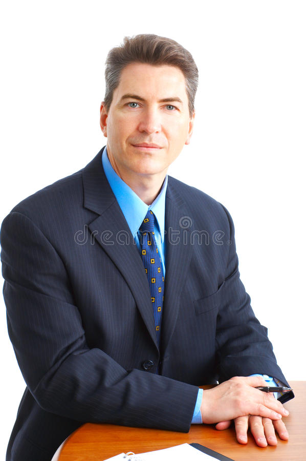 Homme d'affaires mûr photographie stock libre de droits