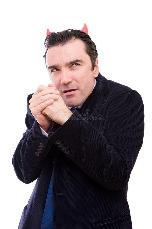 Homme d'affaires mauvais images stock