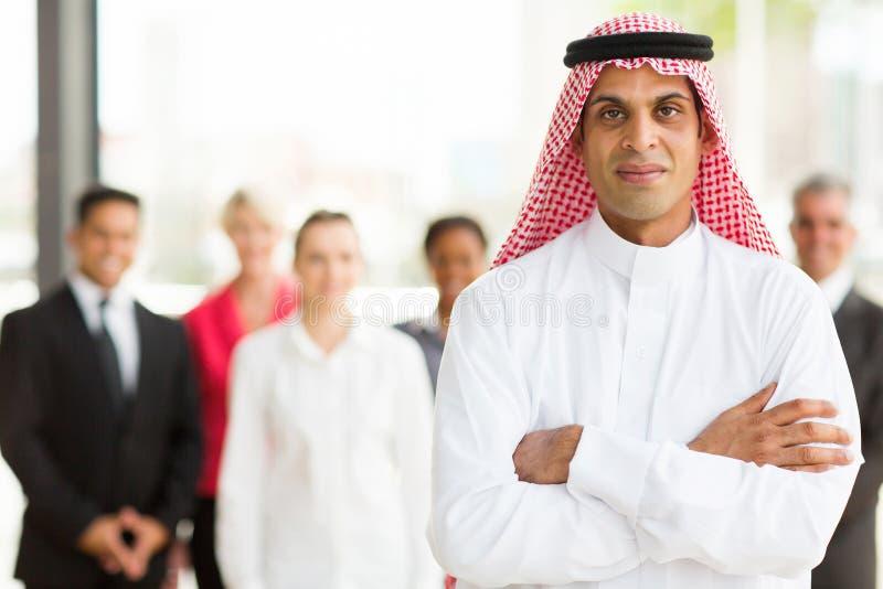 Homme d'affaires musulman photo stock