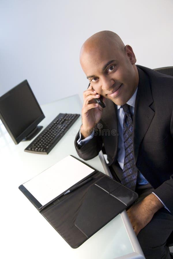homme d'affaires occupé images stock