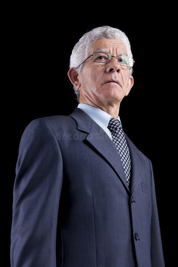 Homme d'affaires puissant image stock