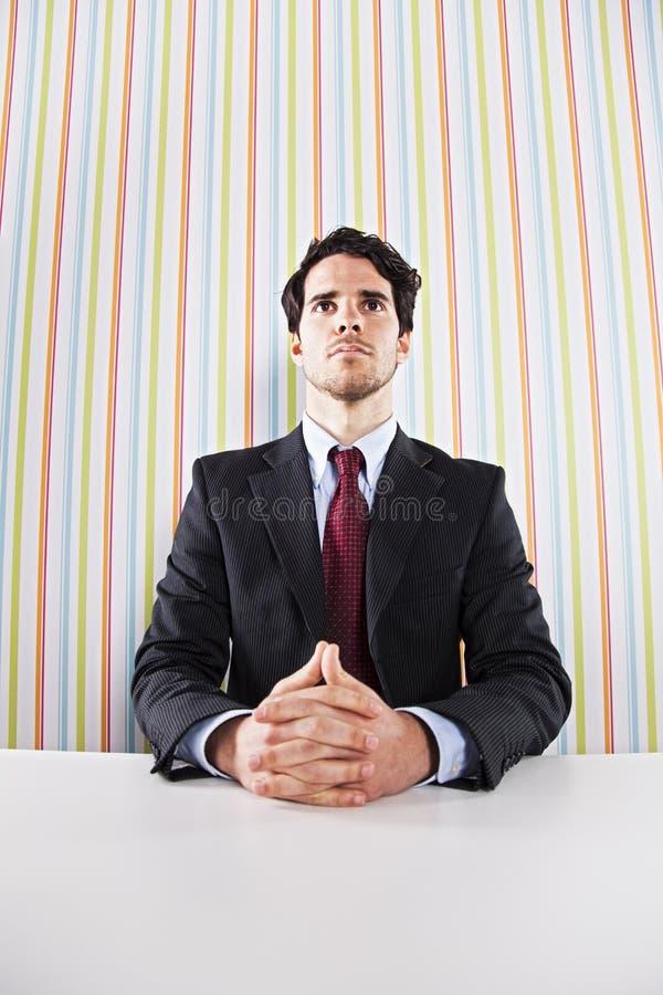 Homme d'affaires puissant photos stock