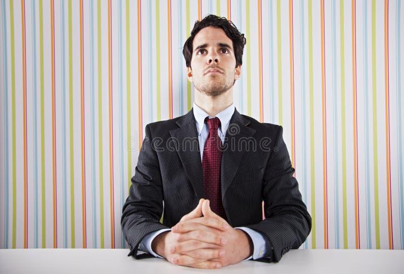 Homme d'affaires puissant photos libres de droits