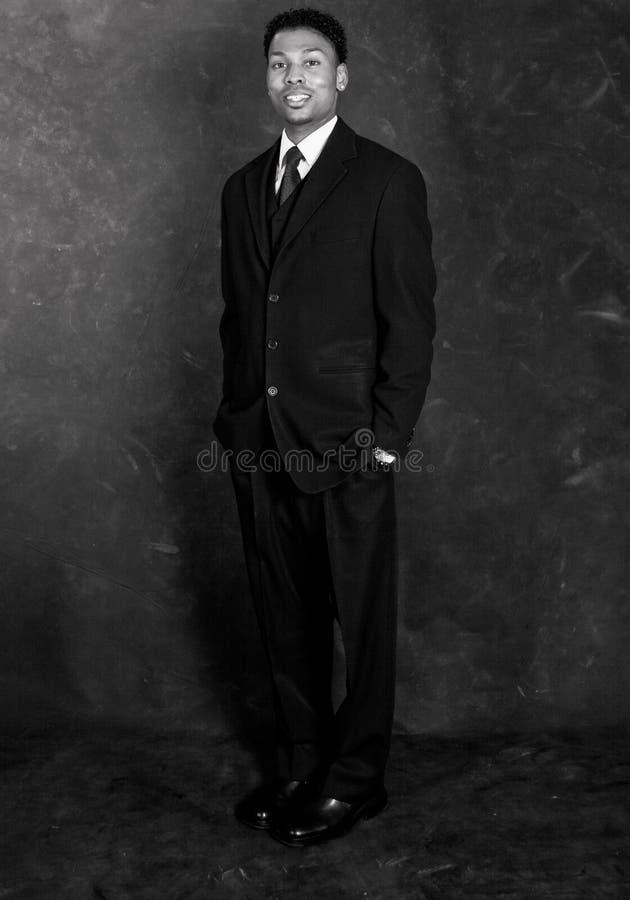 Homme d'affaires - rétro type image libre de droits