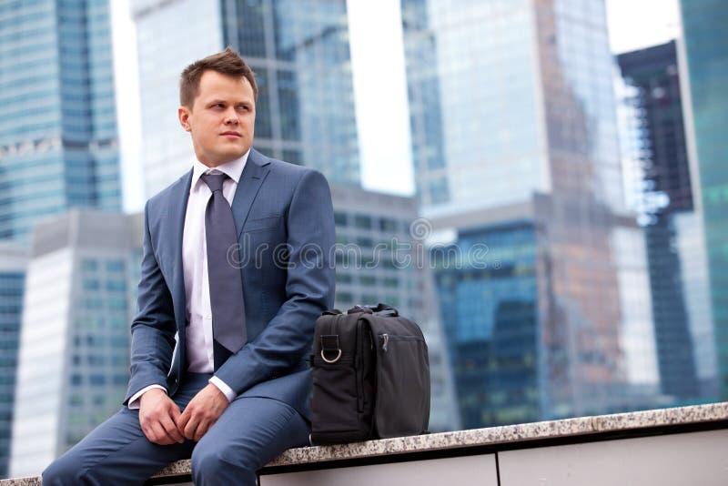 Homme d'affaires réussi images stock