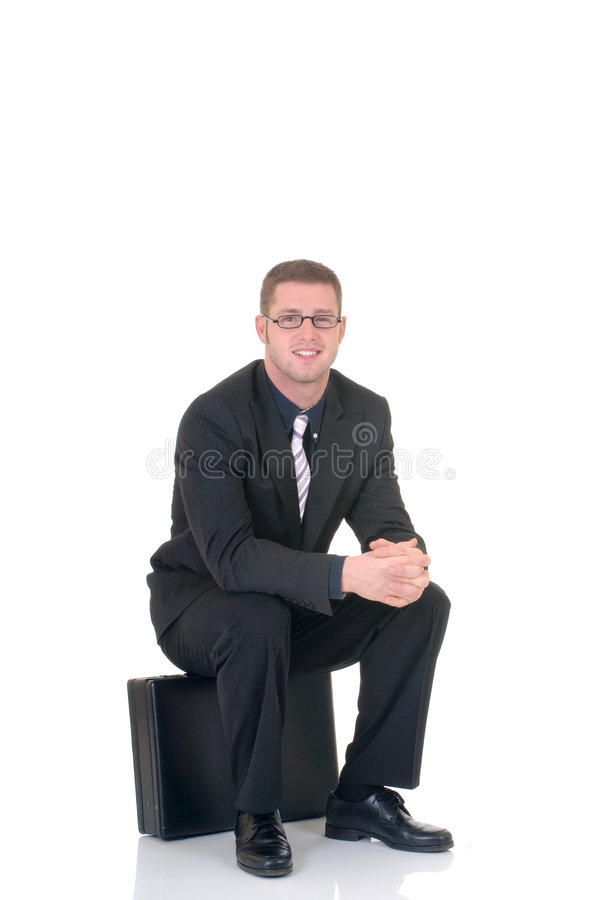 Homme d'affaires réussi photo stock