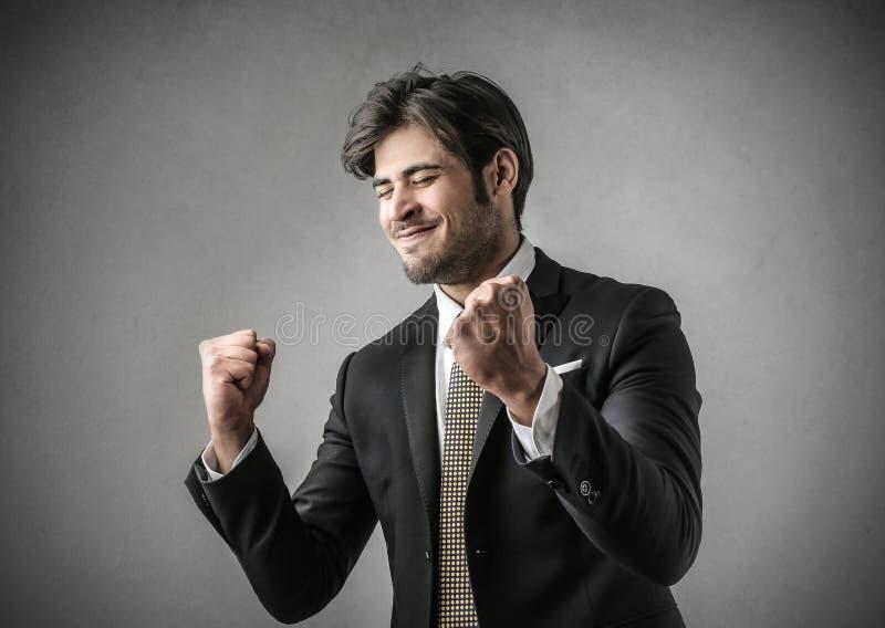 Homme d'affaires réussi photographie stock