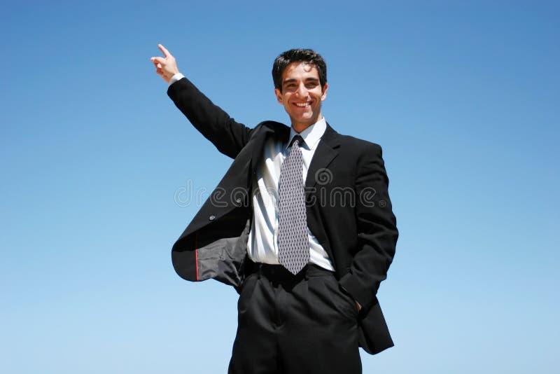 Homme d'affaires réussi images libres de droits