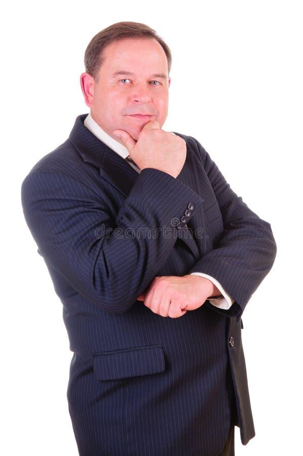 Homme d'affaires réussi d'aîné photographie stock