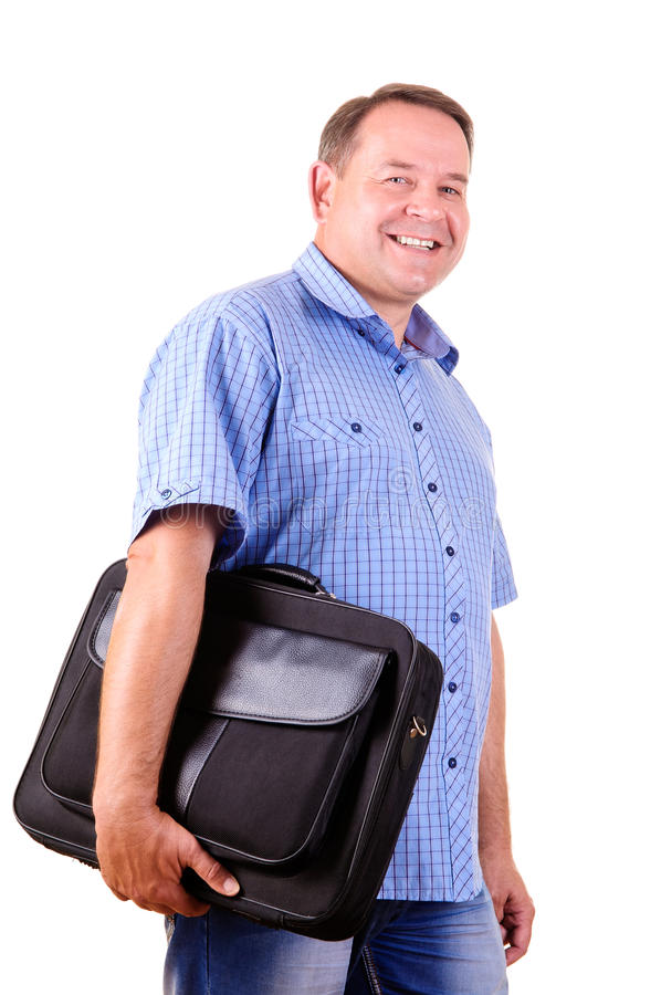 Homme d'affaires réussi de sureau photos libres de droits