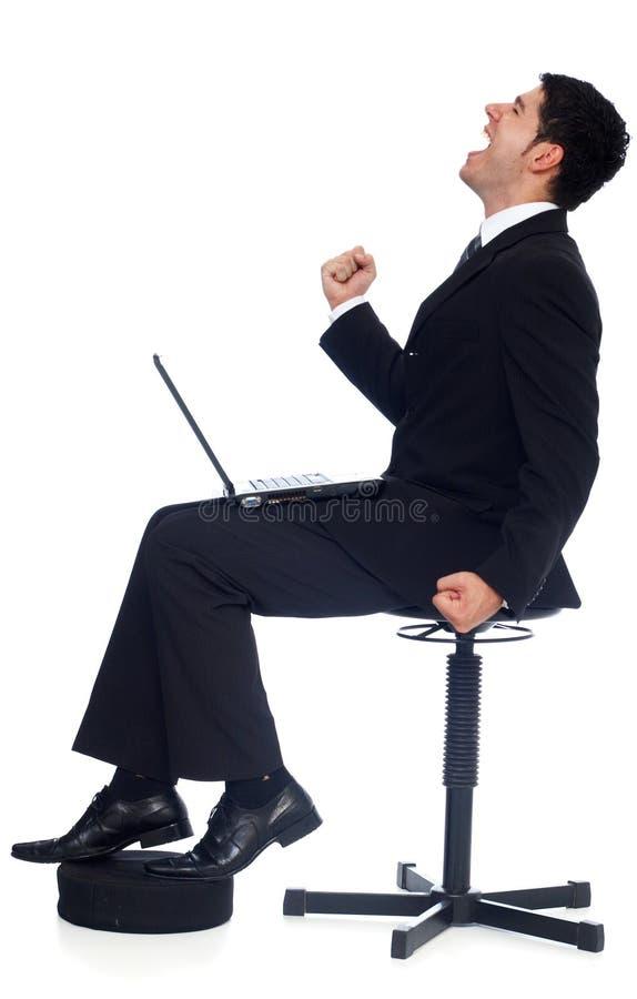 Homme d'affaires r?ussi photos libres de droits