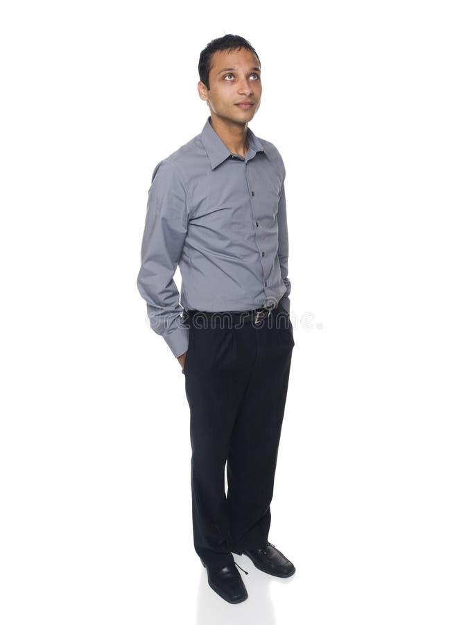 Homme d'affaires - recherchant image libre de droits