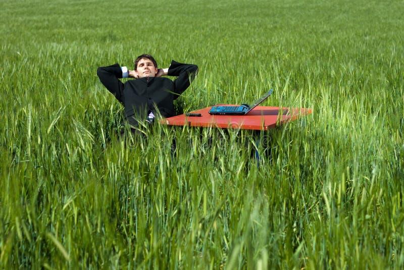 Homme d'affaires Relaxed images libres de droits