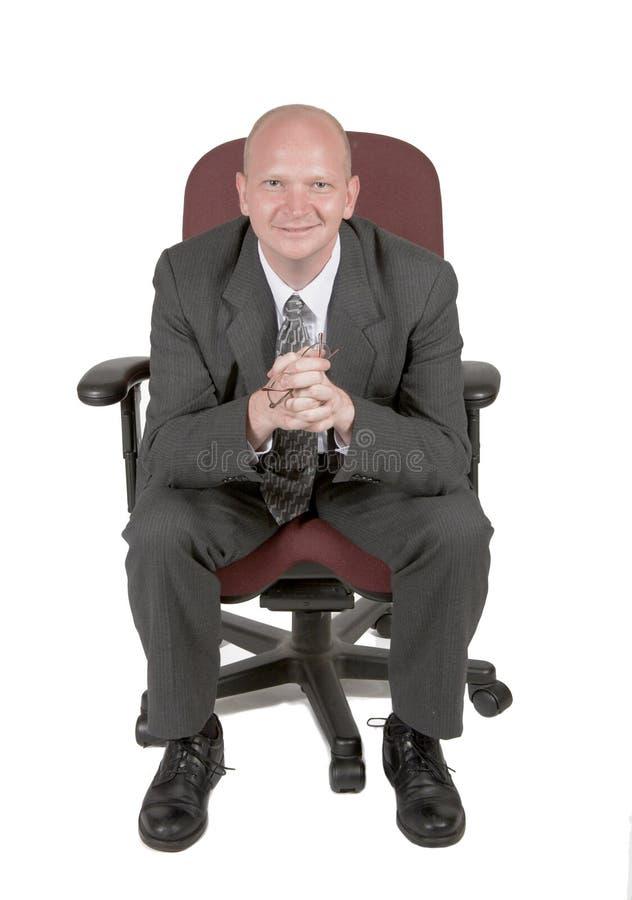 Homme d'affaires sincère 02 photographie stock