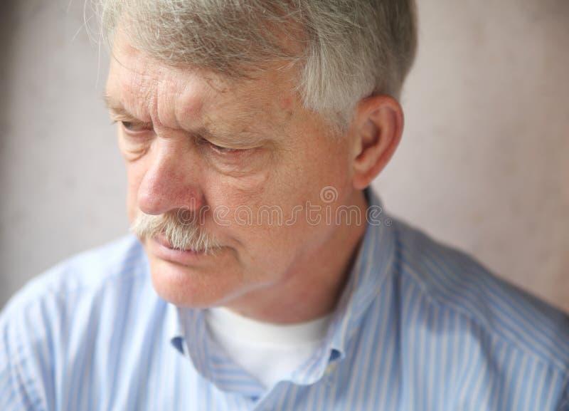 Homme d'affaires sous la tension photo stock