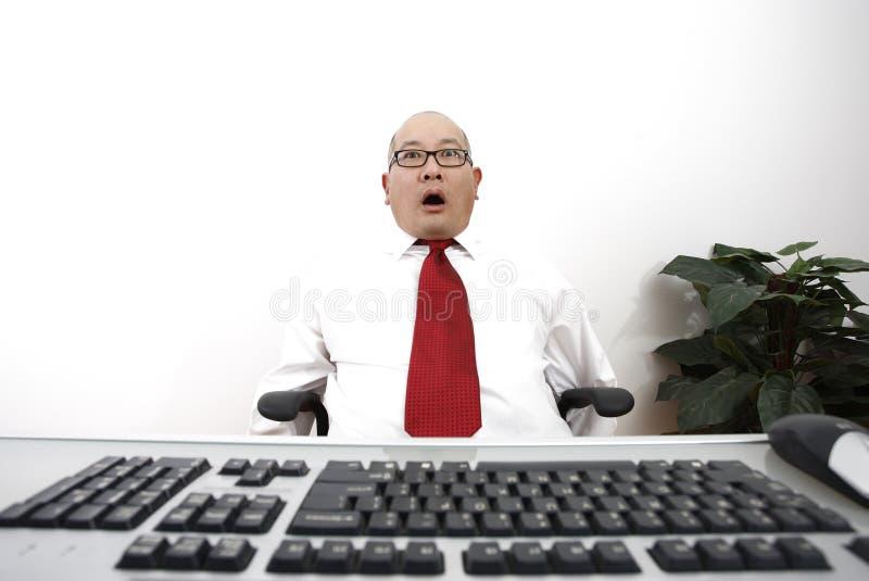 Homme d'affaires Stunned photo libre de droits