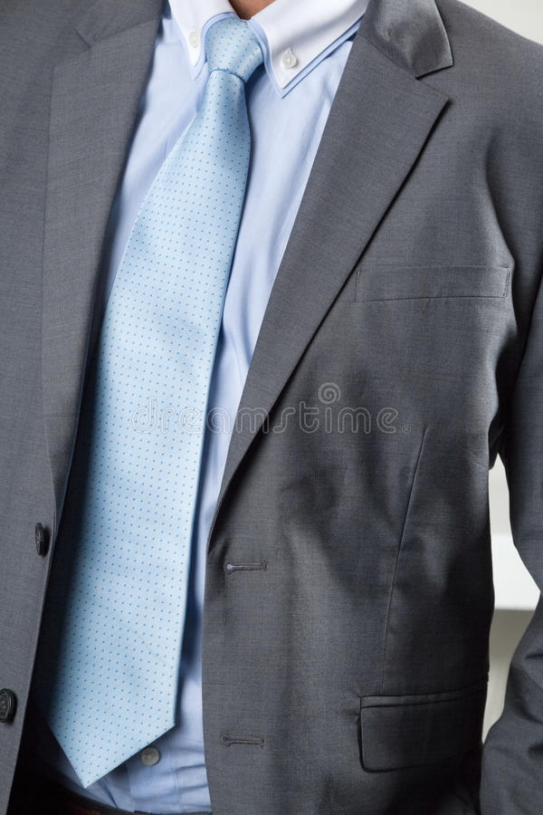 Homme d'affaires In Suit images stock