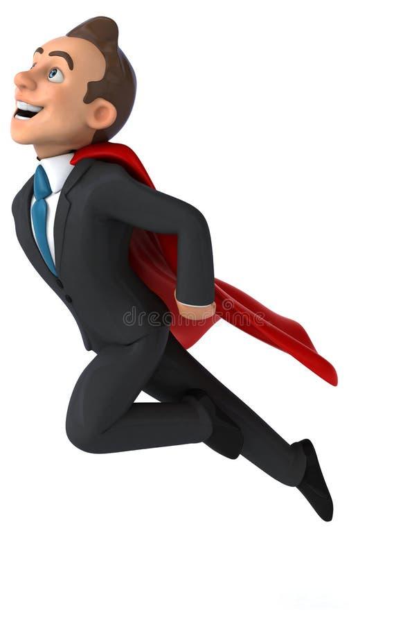 Download Homme d'affaires superbe illustration stock. Illustration du employé - 56490941