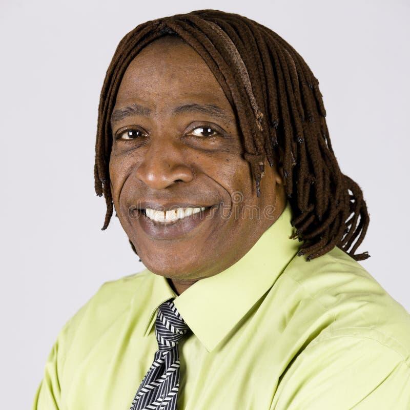 Homme d'Afro-américain image libre de droits