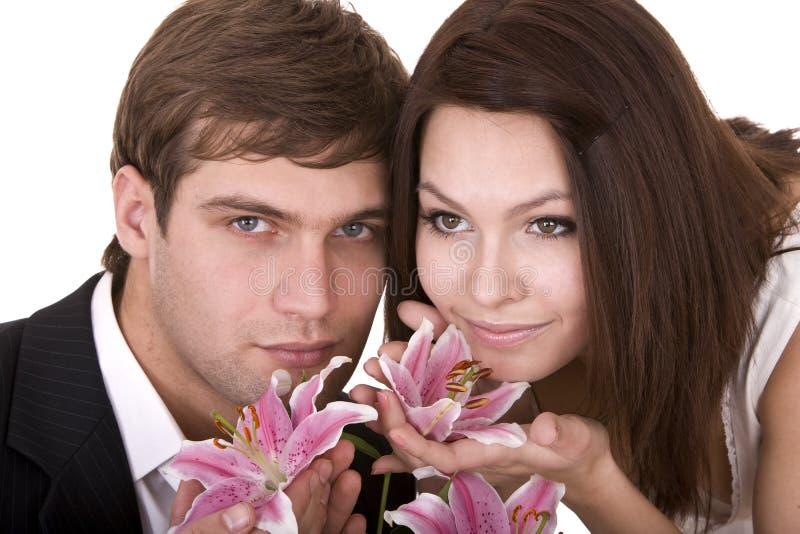 homme d'amour de fille de couples image stock