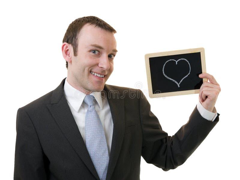 Homme dans l'amour image stock