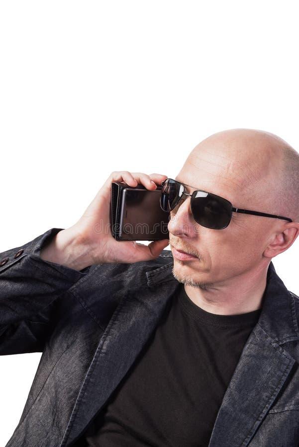 Skinhead Des Homme Dans Jean Soleil De Lunettes Et Blues Les Pk0nwO