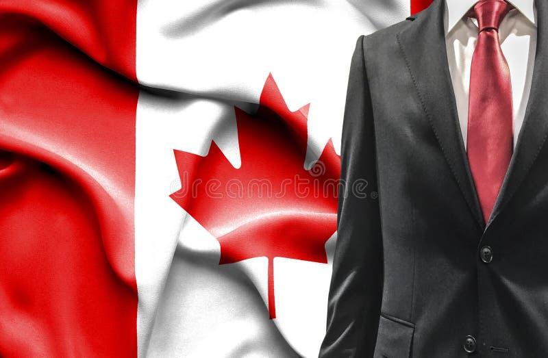 Homme dans le costume du Canada photos stock