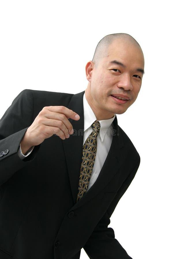 Homme dans le procès image stock