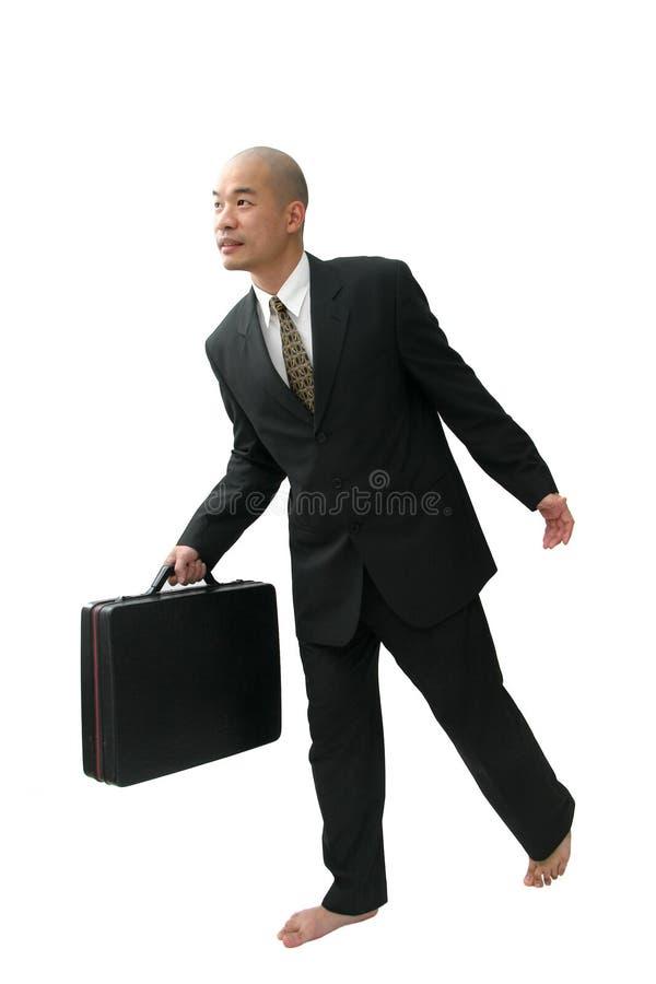 Homme dans le procès photographie stock