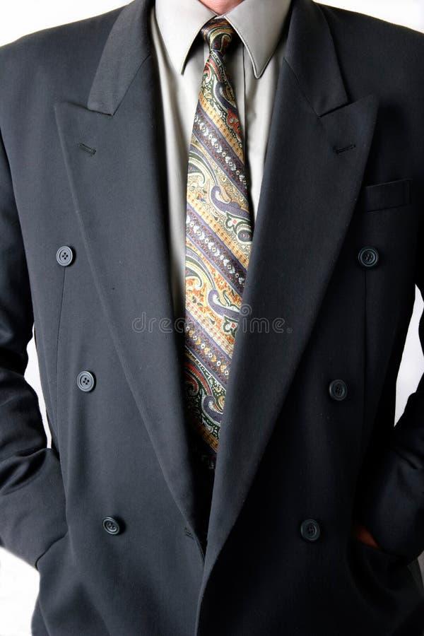 Homme dans le procès d'affaires image stock