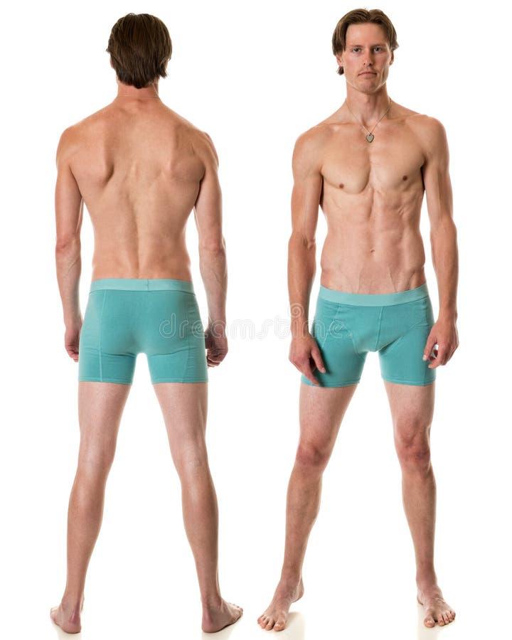 Homme dans les sous-vêtements photos libres de droits