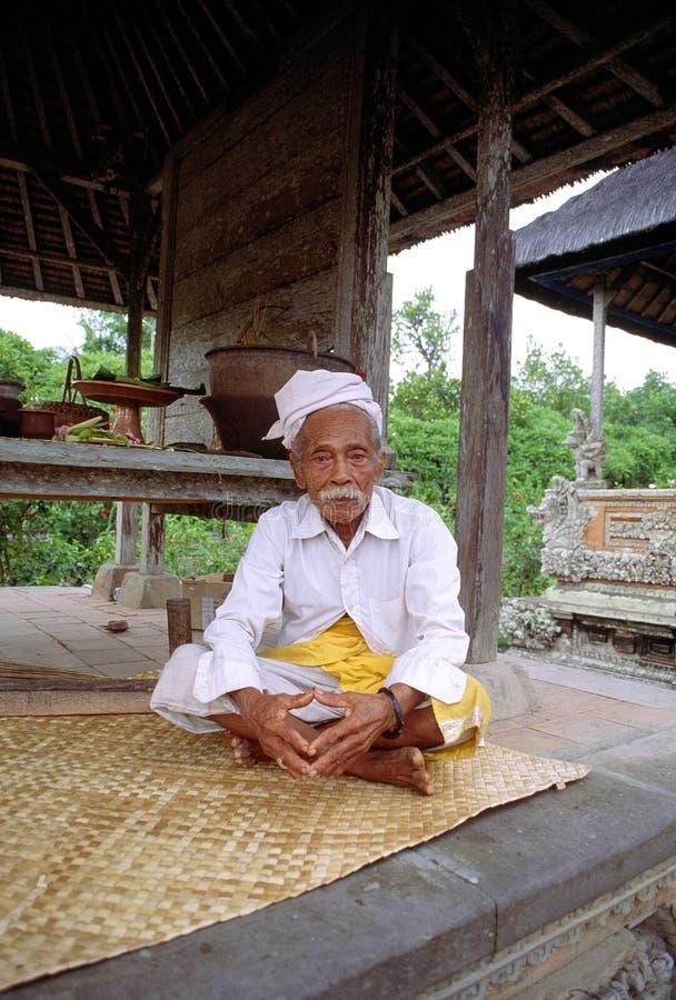 Homme de Balinise photos libres de droits
