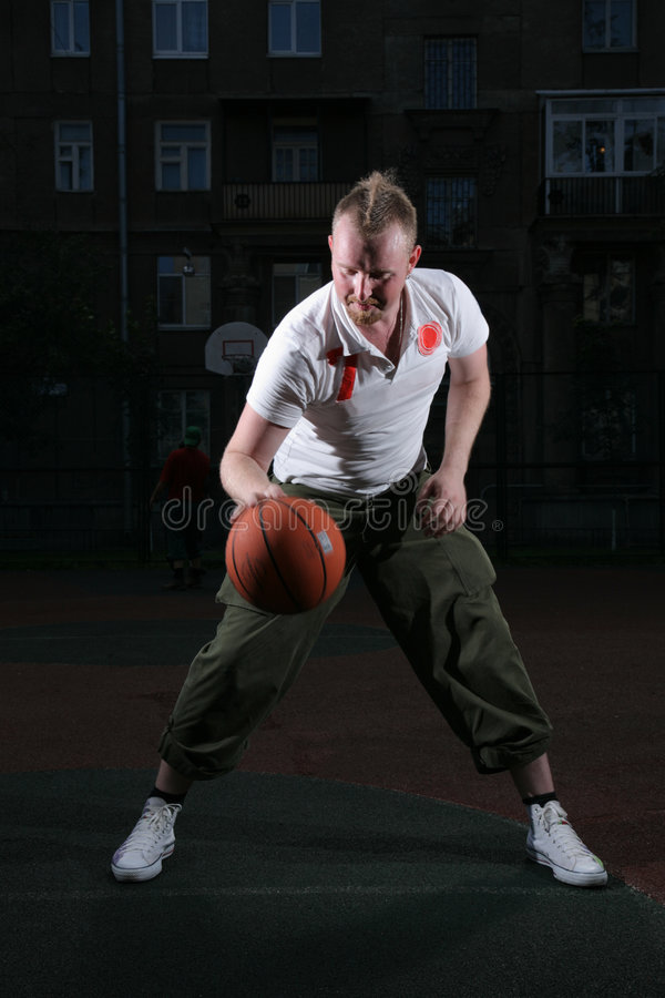 homme de basket-ball images libres de droits