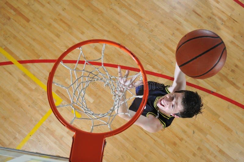 Homme de basket-ball image libre de droits