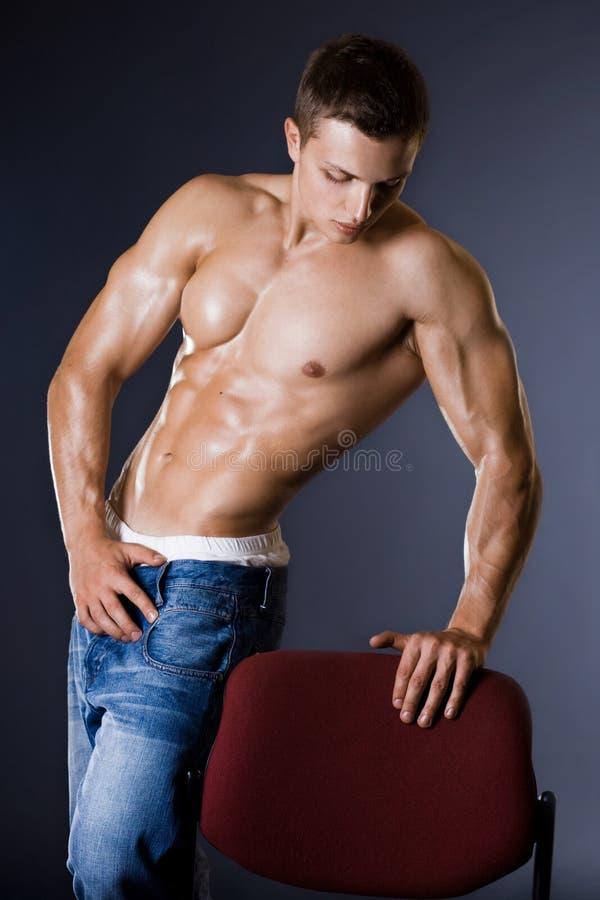 Homme de Bodybuilder images libres de droits