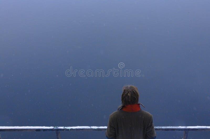 Homme de calme, jour, extérieur photographie stock libre de droits