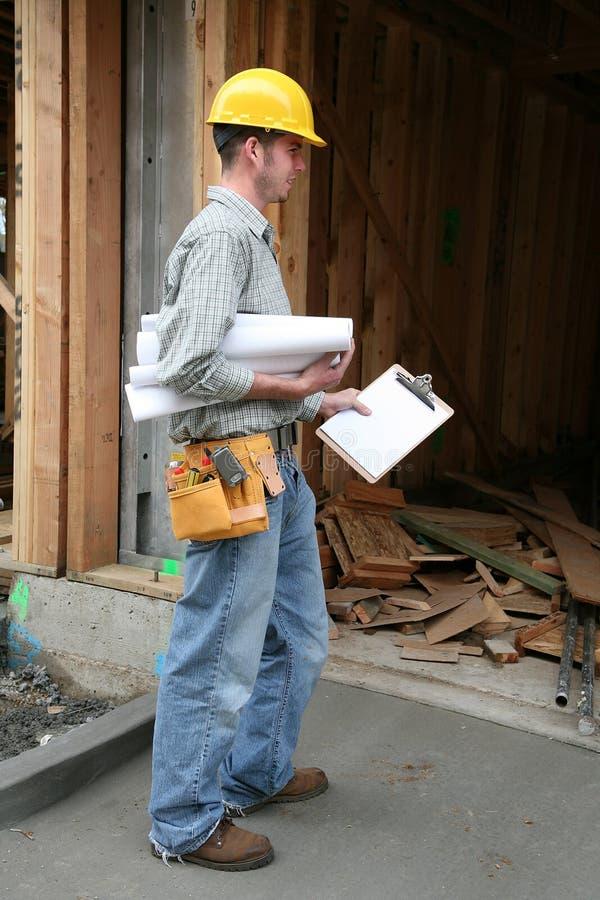 Homme de construction photo libre de droits
