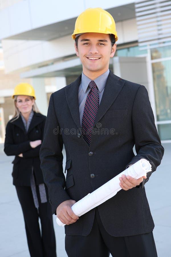 Homme de construction d'affaires photos libres de droits