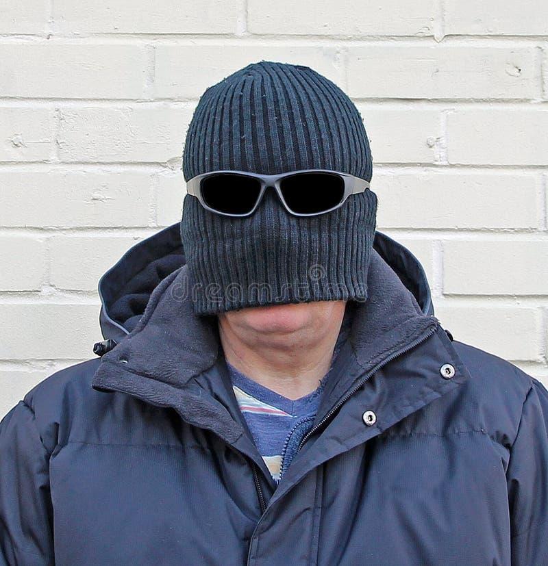 Homme de déguisement de Balaclava photos libres de droits
