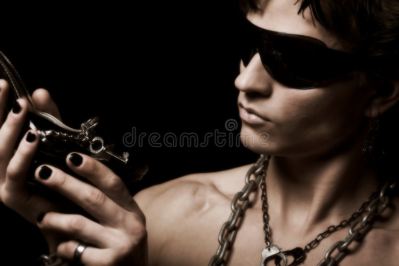 Homme de fétiche photo libre de droits