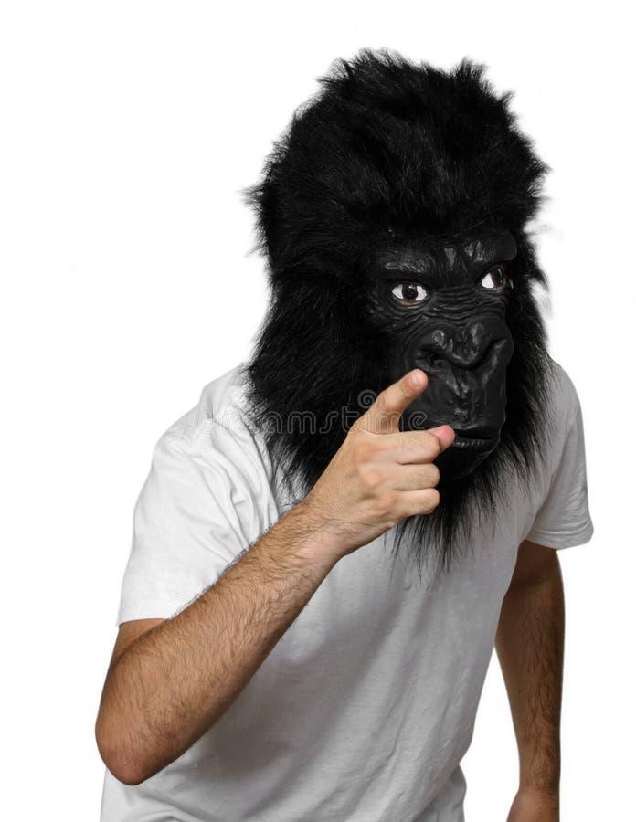 Homme de gorille photographie stock